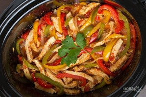 Тушеная курица с овощами в мультиварке - фото шаг 7