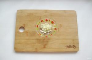 Закуска с баклажанами и чесноком - фото шаг 6