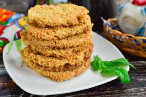 Овсяное песочное печенье - фото шаг 8