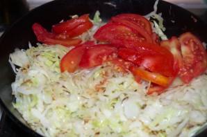 Пирог с капустой и овощами - фото шаг 4