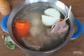 Холодец из говядины и индейки - фото шаг 3