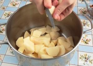 Картофельные зразы с сыром - фото шаг 1