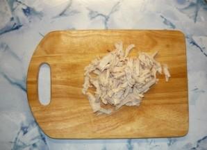 Салат с фунчозой и курицей - фото шаг 4