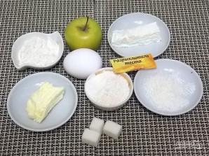 Творожный пирог с яблоками и карамелью - фото шаг 1