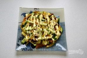 Салат с говядиной и яичными блинчиками - фото шаг 14