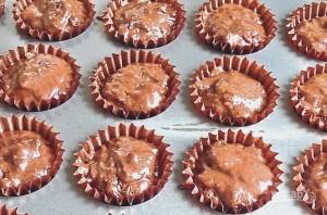 Шоколадные кексы с шоколадом - фото шаг 9