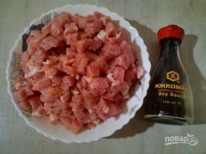 """Мясной салат """"Огонек"""" - фото шаг 1"""