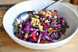Азиатский салат из капусты - фото шаг 7
