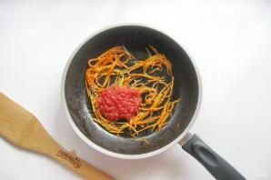 Китайская лапша с кальмарами - фото шаг 7