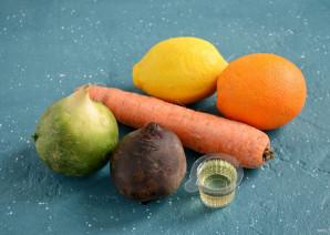 Салат из моркови, свеклы и редьки - фото шаг 1