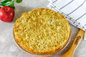 Овсяный пирог с яблоками в мультиварке - фото шаг 7