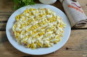 Салат с картофельной стружкой - фото шаг 5