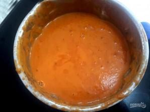 Крем-суп из свежих томатов - фото шаг 4