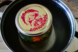 Огурцы по-корейски на зиму (простой рецепт) - фото шаг 8