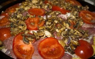 Мясо по-французски с грибами - фото шаг 4