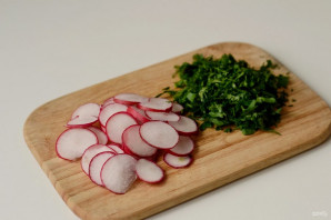 Салат из молодого картофеля - фото шаг 4