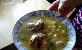 Курица с картошкой в утятнице - фото шаг 9