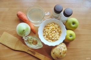 Гороховый суп с яблоками - фото шаг 1