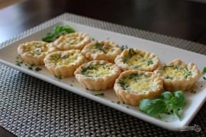 Закуска из тарталеток в микроволновой печи - фото шаг 4