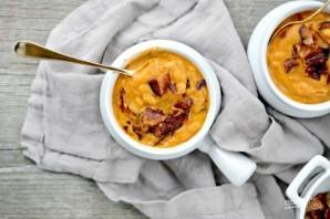 Фасолевый суп с беконом - фото шаг 7