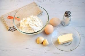 Гороховый суп с чесночными рулетиками - фото шаг 2