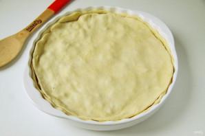 Пирог с картошкой, грибами и курицей - фото шаг 8