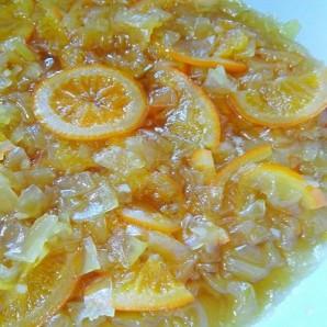Варенье из кабачков с апельсинами - фото шаг 5