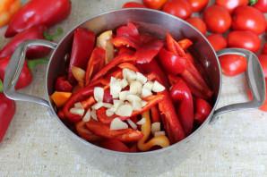 Лечо с томатным соком на зиму - фото шаг 6