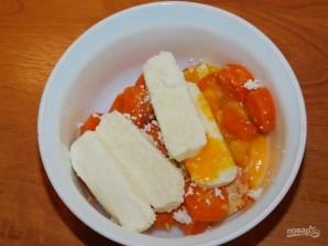 Морковное суфле с творогом - фото шаг 2