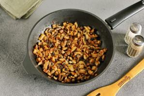 Салат с грибами жареными - фото шаг 4