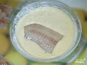 Кляр для рыбы с майонезом - фото шаг 4