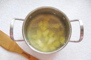 Куриный суп с сельдереем и рисом - фото шаг 3