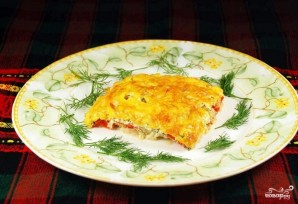 Рыба в духовке со сметаной и сыром - фото шаг 8
