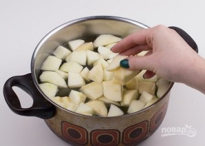Яблочное пюре для малышей - фото шаг 3
