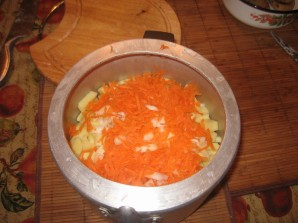 Курица с картошкой в скороварке - фото шаг 5