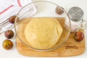 Песочный пирог с инжиром - фото шаг 4