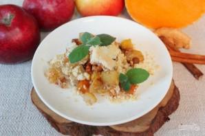 Пряный пудинг из тыквы и яблок - фото шаг 14