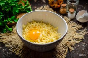 Ленивые хачапури на сковороде - фото шаг 3