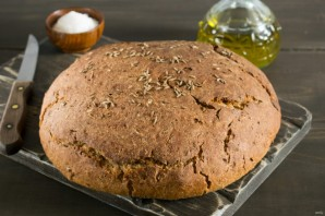 Ржаной хлеб на меду - фото шаг 5