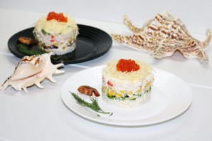 Новый салат с крабовыми палочками - фото шаг 13