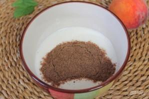Полезный коктейль из йогурта с персиком и семенами льна - фото шаг 2