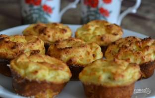 Творожные кексы с изюмом - фото шаг 4