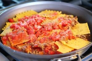 Лазанья на сковороде - фото шаг 5