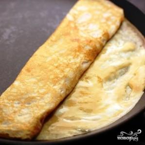 Японский омлет с соевым соусом - фото шаг 6