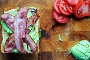 Клубный сэндвич с курицей - фото шаг 8