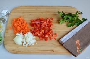 Ароматное овощное ризотто - фото шаг 2