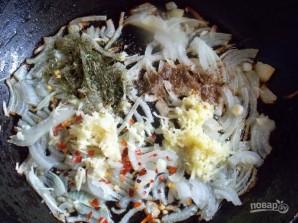Куриная печень по-азиатски - фото шаг 4