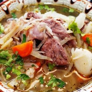 Суп из индейки с капустой - фото шаг 8
