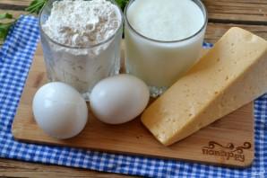 Сырные лепешки на кефире - фото шаг 1