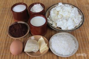 Сырники с кокосом - фото шаг 1